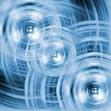 Cercles abstraits illustration de vecteur