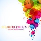 Cercles abstraits de spectre illustration libre de droits