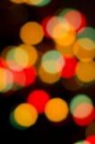 Cercles abstraits sur un fond coloré Images stock