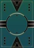 Cercles Art Deco Background Photos libres de droits