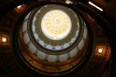 Cercles capitaux photo libre de droits