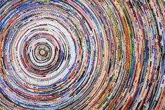 Cercles colorés Photos stock