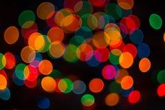 Cercles colorés Photos libres de droits