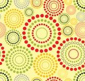 Cercles concentriques Images stock