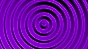 Cercles concentriques avec l'effet hypnotique illustration de vecteur