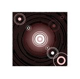 Cercles d'abstraction Photos stock