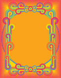 Cercles d'art de bruit Illustration Libre de Droits