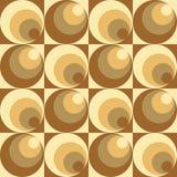 Cercles dans le modèle de cercles Photographie stock libre de droits