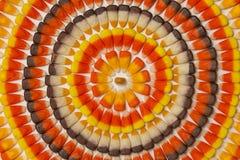 Cercles de bonbons au maïs Image stock
