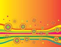 Cercles de célébration illustration libre de droits