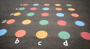 Cercles de couleur Image libre de droits