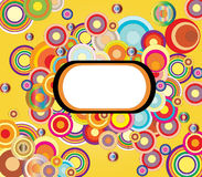 Cercles de couleur Image stock