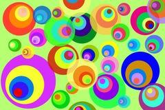 Cercles de disco illustration libre de droits