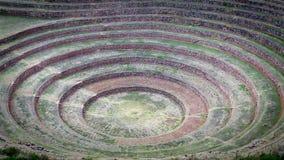 Cercles de picchu de Machu Image libre de droits