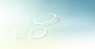 Cercles de réseau Images stock