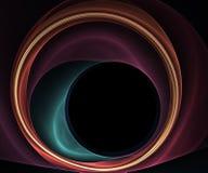 Cercles de tourbillonnement Photographie stock