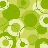 Cercles de vert de chaux Photos libres de droits