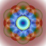 Cercles enlacés illustration de vecteur