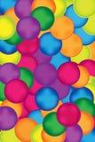 Cercles et boutons colorés à l'arrière-plan lumineux illustration libre de droits