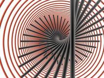Cercles et lignes illustration de vecteur