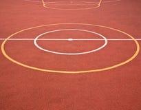 Cercles et lignes de jeux de sports Photos libres de droits