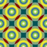 Cercles et texture de sphères Illustration Stock