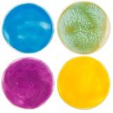 Cercles faits main de poterie Photos libres de droits