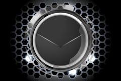 Cercles foncés abstraits de technologie Image stock