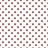 Cercles foncés sur un modèle sans couture de vecteur de fond clair Image stock