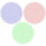 Cercles graphiques abstraits Illustration Libre de Droits