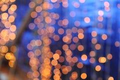 Cercles légers Images stock