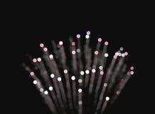 Cercles légers de bokeh de tache floue et de defocus Image libre de droits
