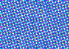 Cercles multicolores Illustration Libre de Droits