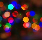 Cercles multicolores de fête colorés Photos stock