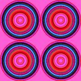 Cercles pixel Stock Images