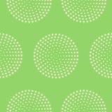 Cercles pointillés Image stock