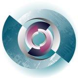 Cercles rompus Photos libres de droits