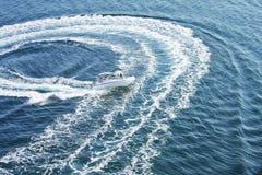 Cercles sur l'eau Photo libre de droits