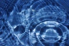 Cercles sur l'eau Image libre de droits
