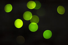 Cercles verts Images stock