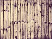 Cerco de madeira Imagem de Stock Royalty Free