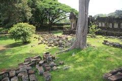Cerco del templo de Bapourn Imagen de archivo libre de regalías