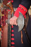 Cerco do Reenactment de Turin (setembro 1706) Foto de Stock Royalty Free