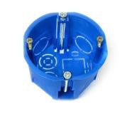 Cerco plástico dielétrico para tomadas e interruptores bondes Foto de Stock Royalty Free