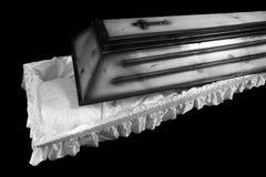 Cercueil photographie stock libre de droits