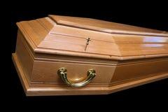 Cercueil de Brown images libres de droits