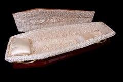 Cercueil de Brown photo libre de droits