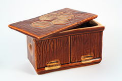 Cercueil en céramique Photographie stock libre de droits