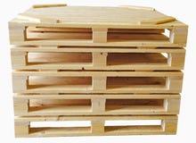 Cercueils en bois Images stock