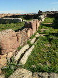 cerdeña Carbonia Monte Sirai Imagen de archivo libre de regalías